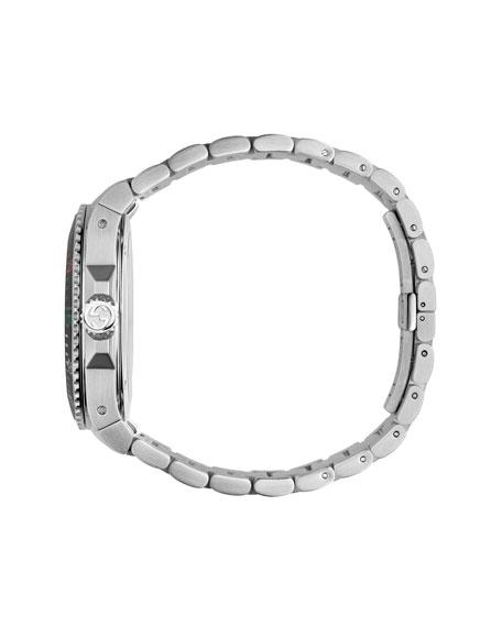 GUCCI 45MM GUCCI DIVE STAINLESS STEEL BRACELET WATCH,PROD202400280