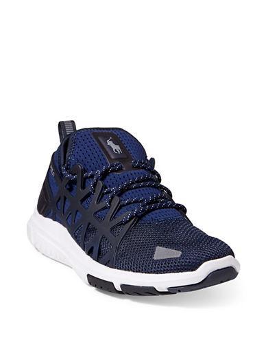 91851c01b185ce Polo Ralph Lauren Train 200 Sneakers - Farfetch In Blue | ModeSens