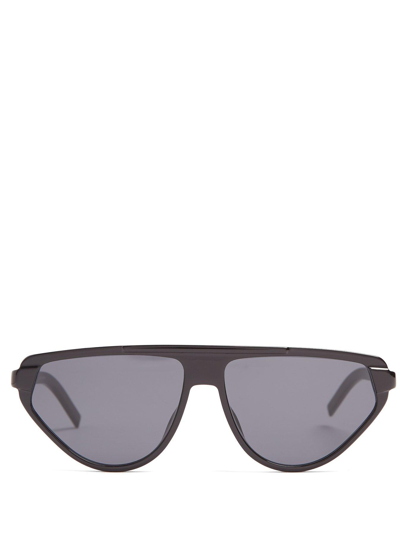 c611dc496a948 Dior Homme D-Frame Acetate Sunglasses In Black