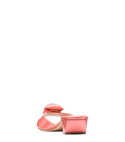 d150eab3ade The Rosebud Sandal in Watermelon Pink Patent