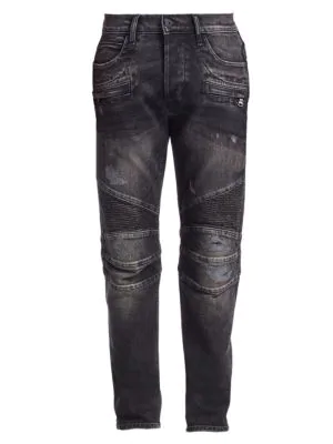 1f79b348d51 Hudson The Blinder Skinny Biker Jeans In Hacker | ModeSens