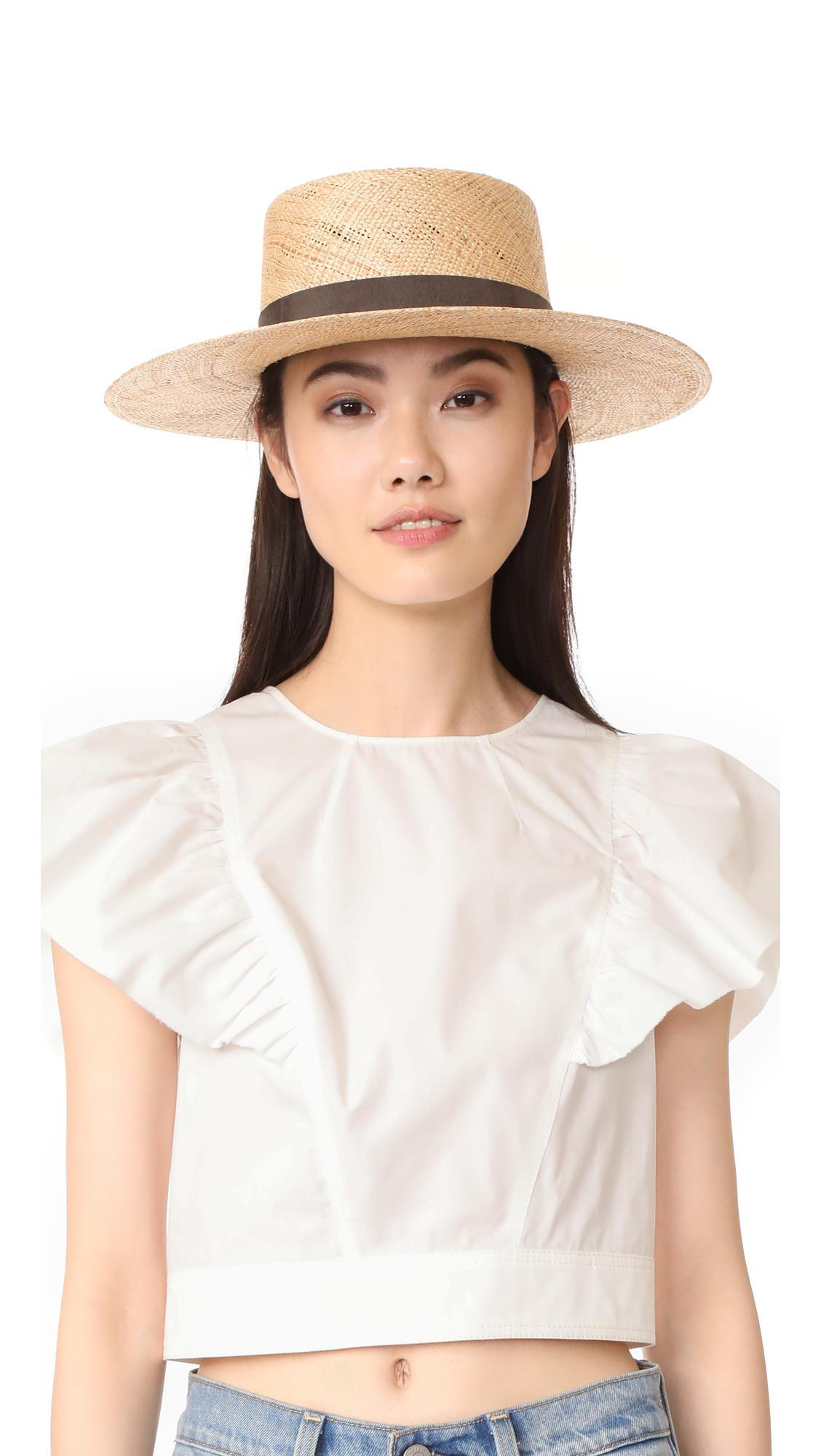 29c14379384a8 Janessa Leone Jade Bolero Hat In Natural