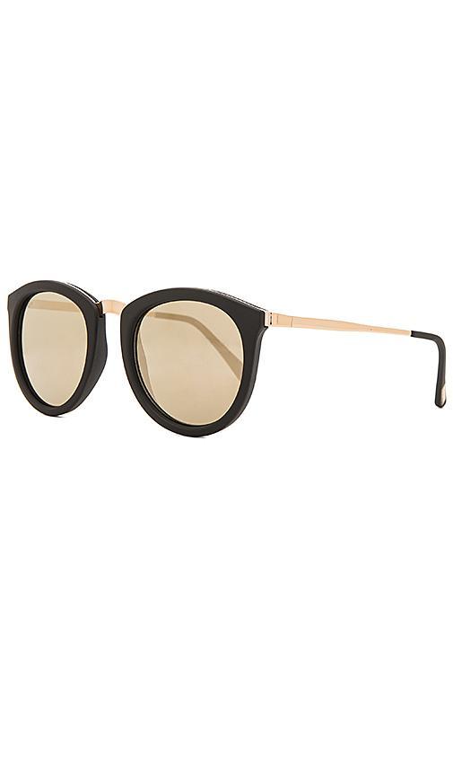 a0edcdfef7e Le Specs No Smirking Limited 50Mm Sunglasses - Matte Black In Black Gold