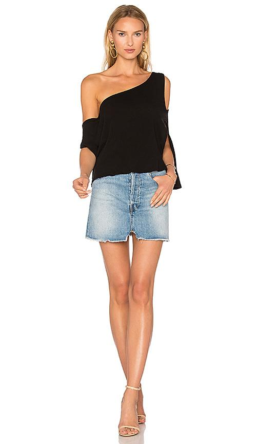 IRO IRO KAEL TOP IN BLACK.,IRO-WS149