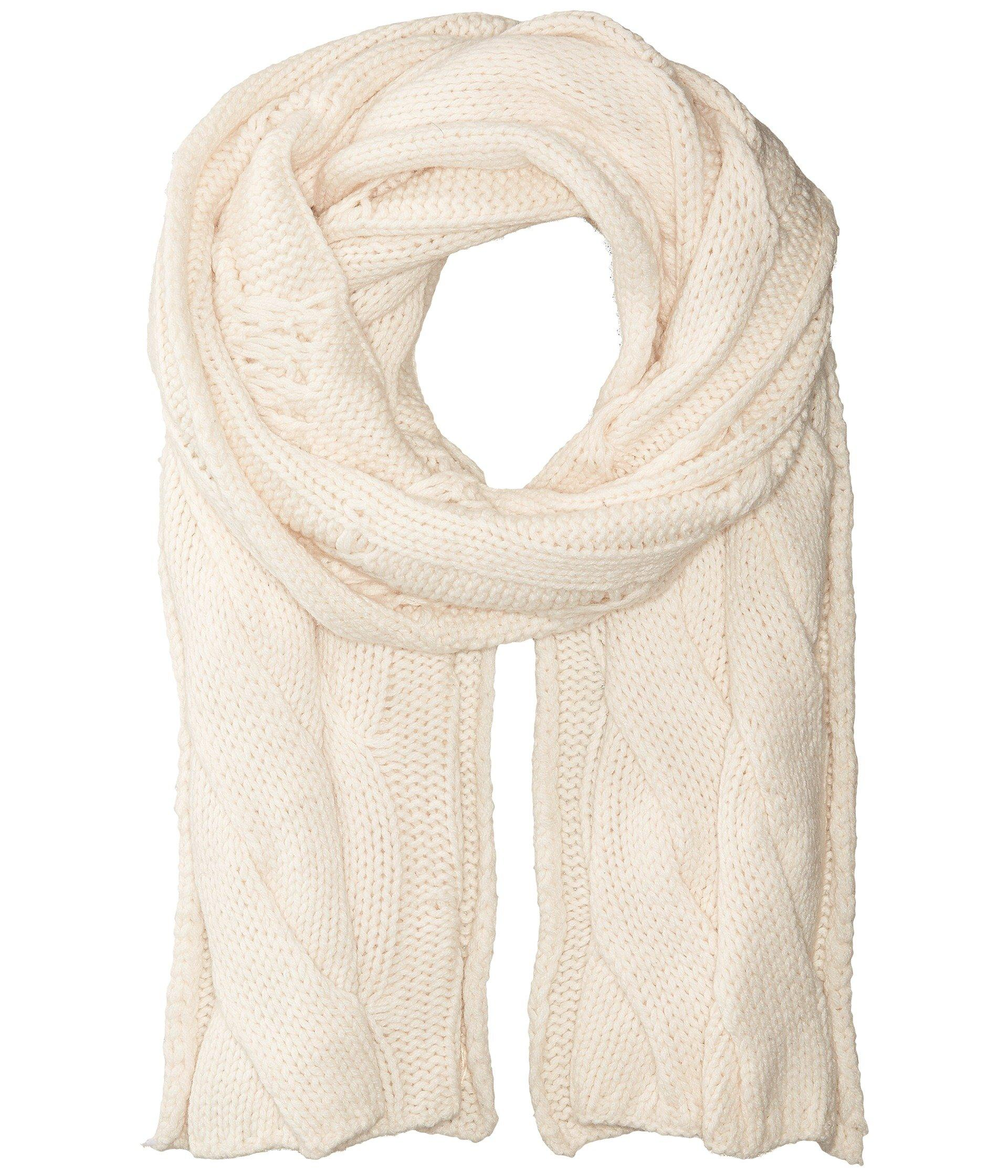 6f1bda4ee29 Keep an elegant twist to your favorite looks with this Polo Ralph Lauren®  Exploded Rope Cable Scarf. Oblong scarf with cable-knit pattern.