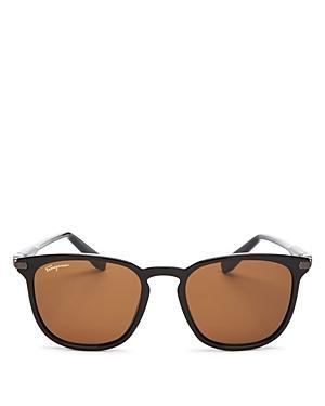 9d2e1264bba Salvatore Ferragamo Double Gancio 53Mm Sunglasses - Black