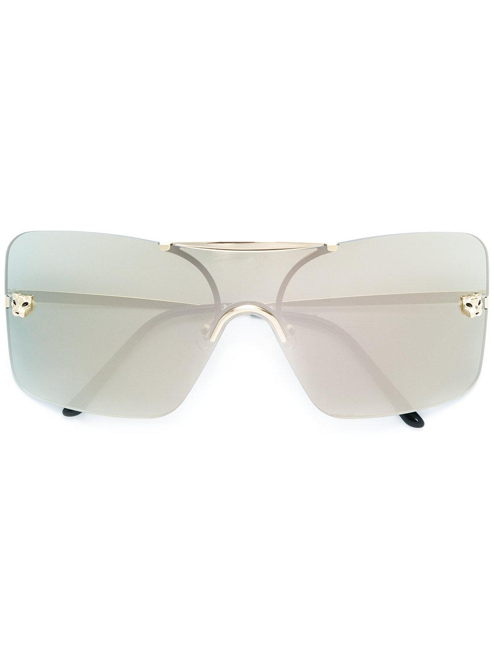 f70726a05f Cartier PanthèRe De Sunglasses - Metallic
