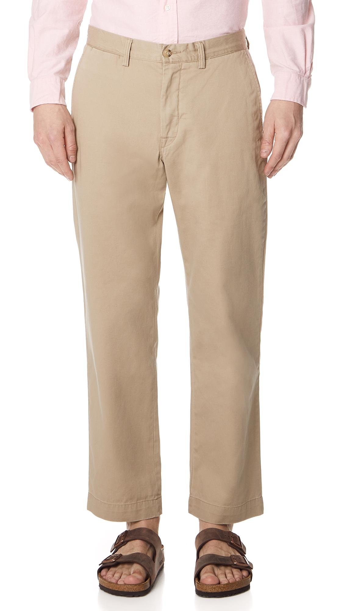 Fit Chino In Tan Pants Classic nOvw80ymN