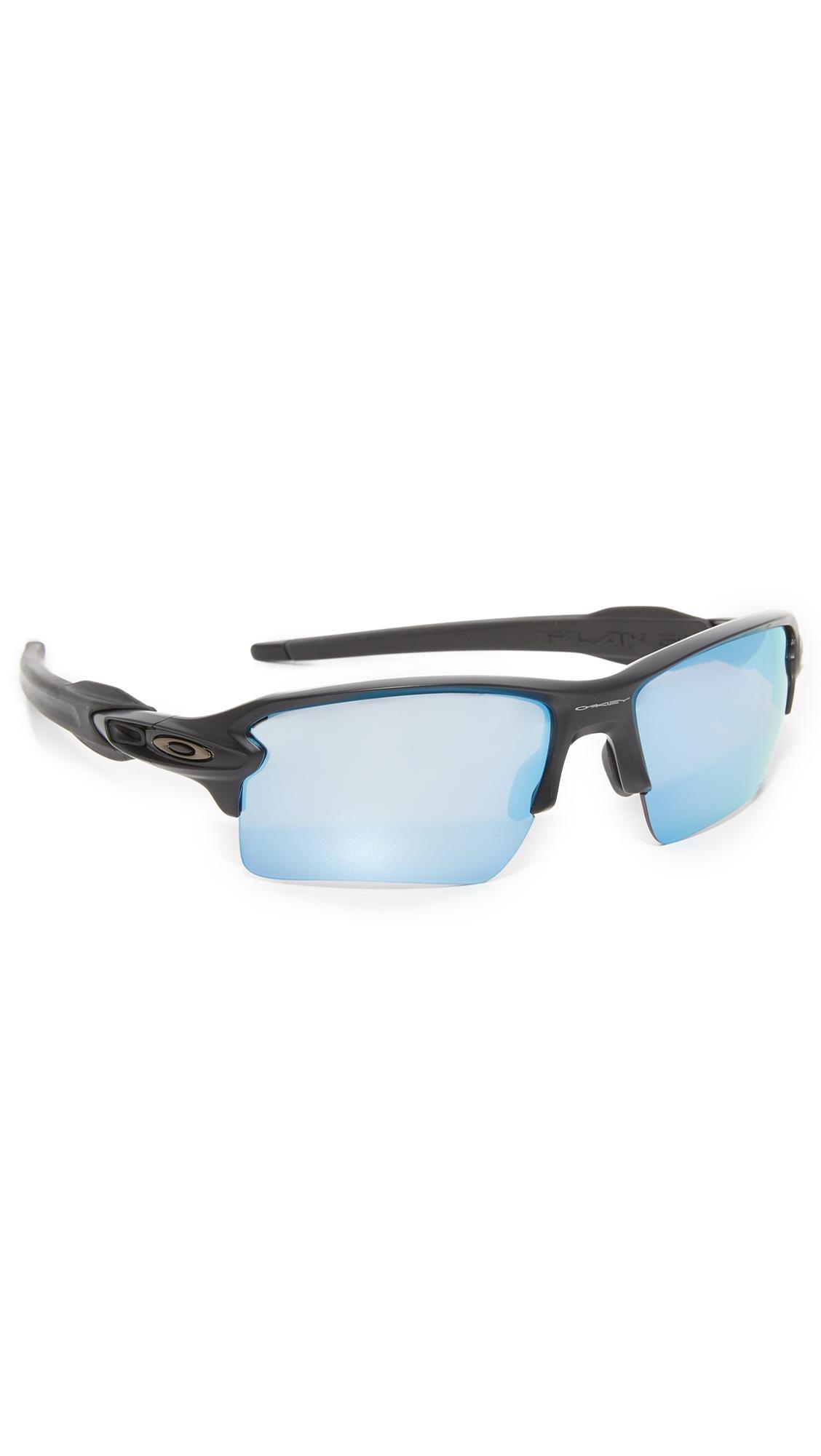 425d02b012d5 Oakley Flak 2.0 Xl Prizm Polarized Sunglasses In Black Prism Deep Water