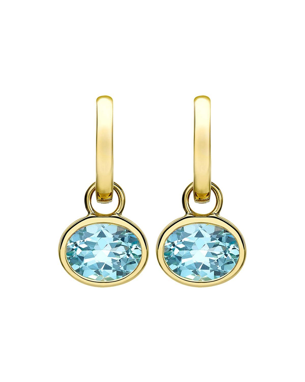 3fb08647c Kiki Mcdonough 18K Gold Eternal Blue Topaz Drop Earrings   ModeSens