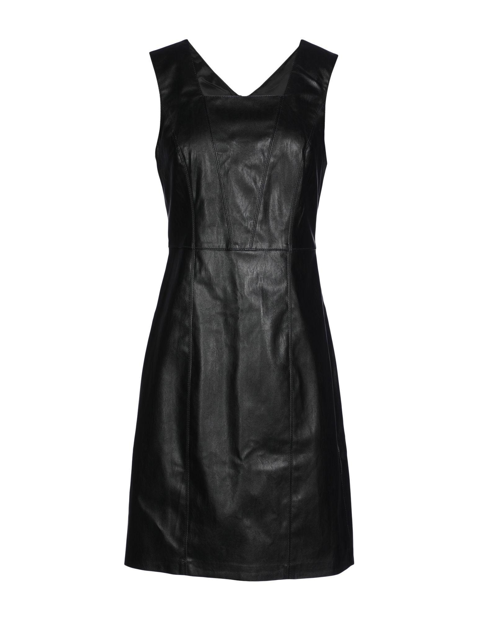 e8e735d5085 Armani Exchange Short Dress In Black | ModeSens