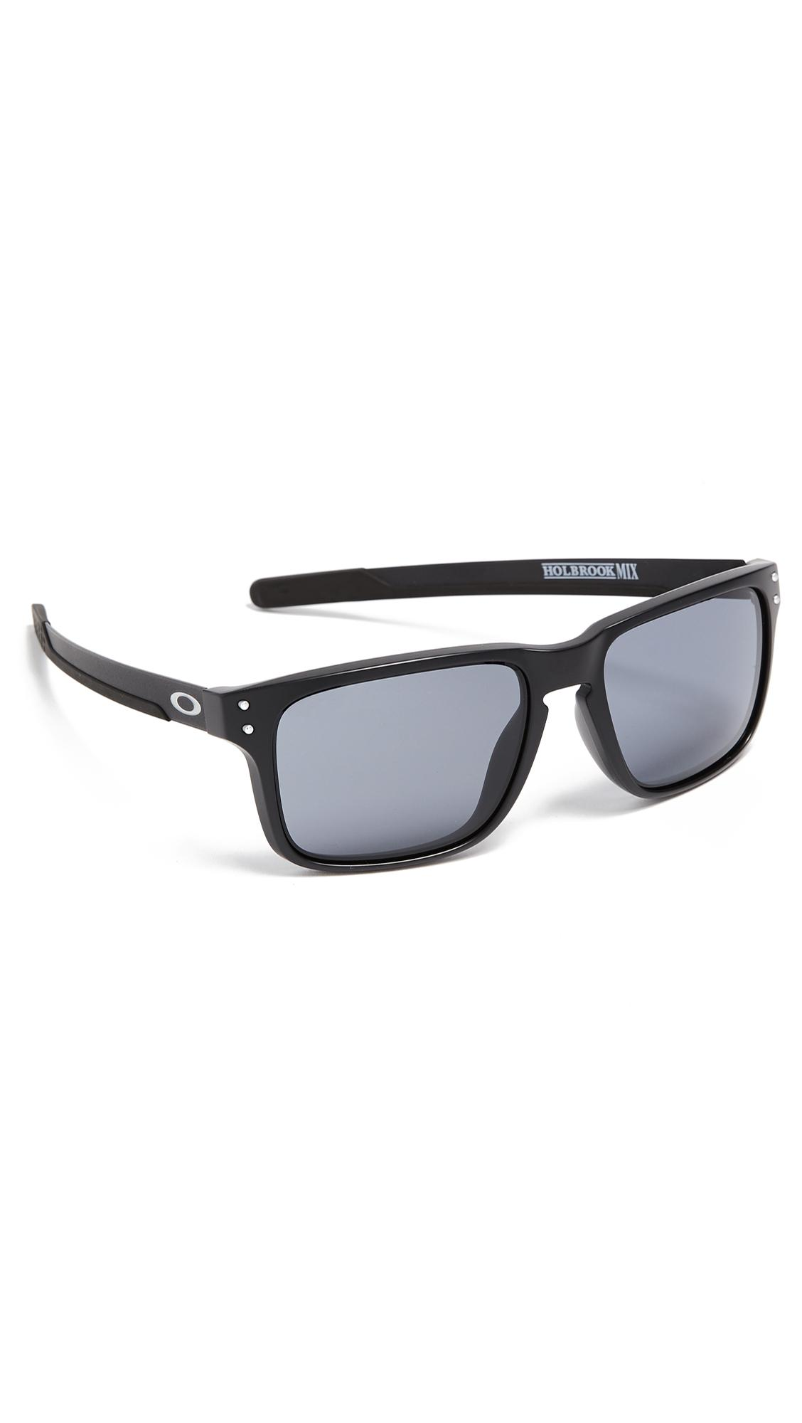 8da82ba0af420 Oakley Holbrook Sunglasses In Black Grey