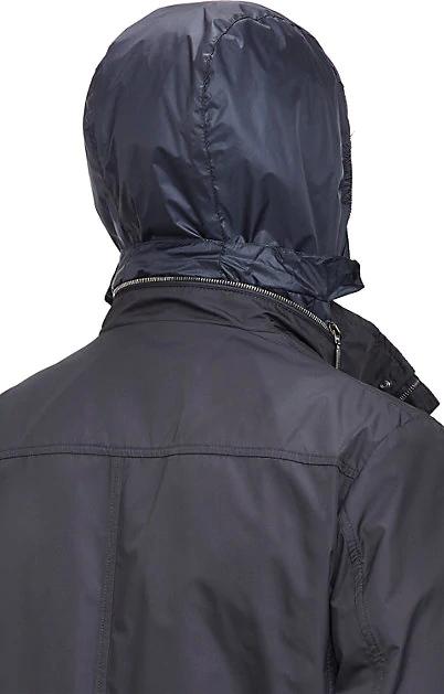 1869e3d4a Manolo Tech-Fabric Field Jacket in Blue