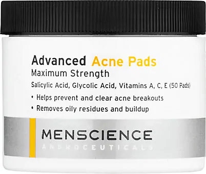 MENSCIENCE ADVANCED ACNE PADS,00450655000403