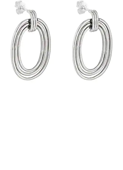 PAMELA LOVE HELENE EARRINGS - SILVER,00505053862204