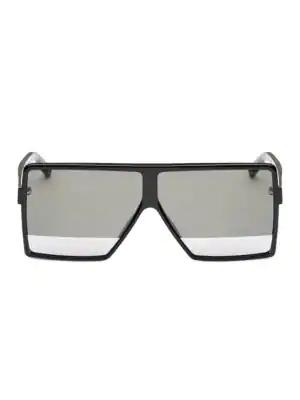 50f76979d0 Saint Laurent Men s Flat Top Tonal Lens Square Sunglasses