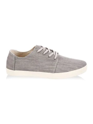 9bfe82fb3c9 Toms Men s Payton Denim Lace Up Sneakers In Gray Denim