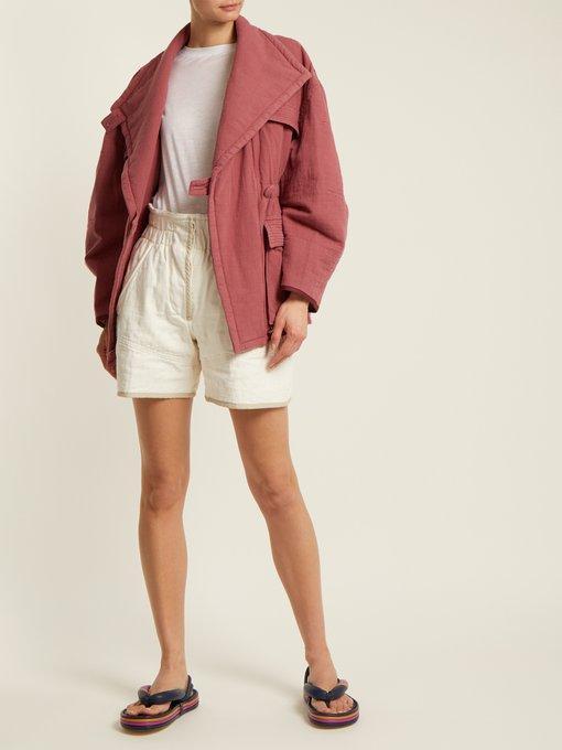 cbcf00aaad42 Isabel Marant - Etanee Tri Colour Flatform Sandals - Womens - Navy Multi