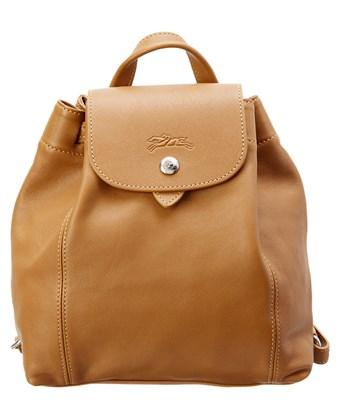 Longchamp Le Pliage Cuir Xs Leather Backpack In Nocolor