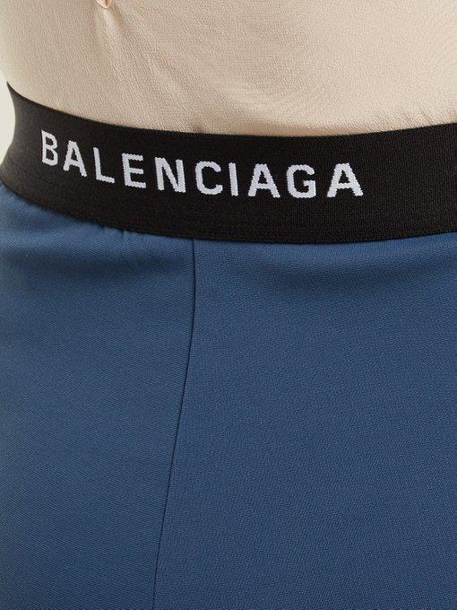 6db5ad83c931 Balenciaga - High Rise Skinny Trousers - Womens - Navy | ModeSens