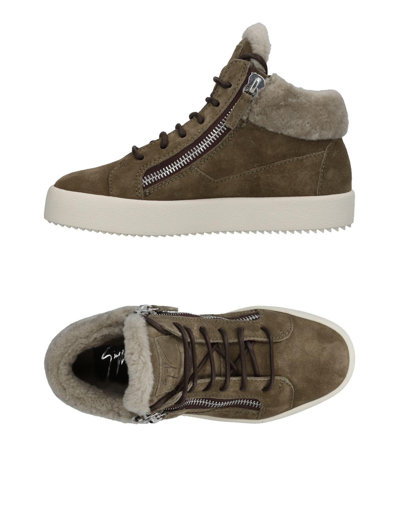 c0f2a2e192137 Giuseppe Zanotti Sneakers In Military Green | ModeSens