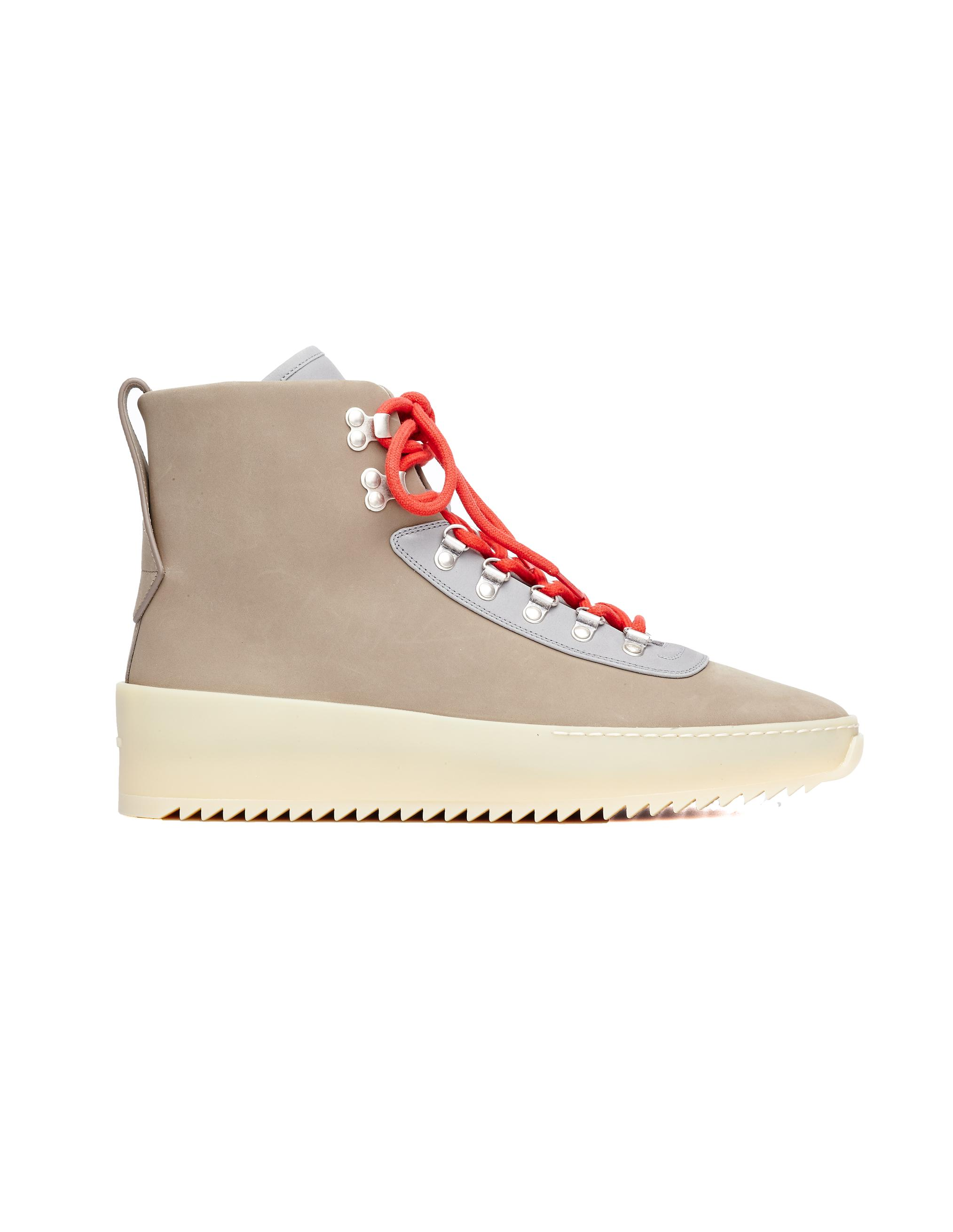 622369a547eb5 Fear Of God Hiking Nubuck   Leather Sneakers In Grey