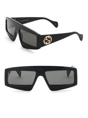 85abe878f52 Gucci Fashion Show Black Mask Sunglasses 61Mm
