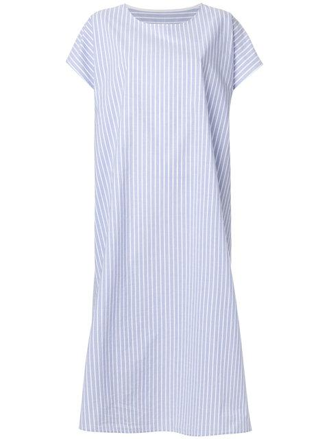 b402dc6d174cb Mm6 Maison Margiela Striped Shirt Dress - Blue