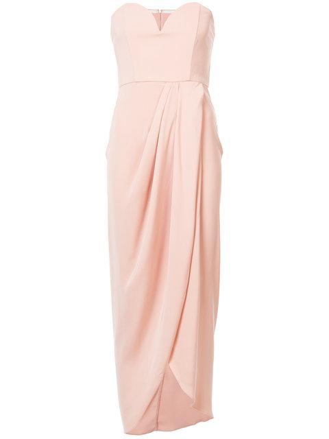 f80001f45271 Shona Joy Wrap Front Midi Dress - Pink   ModeSens