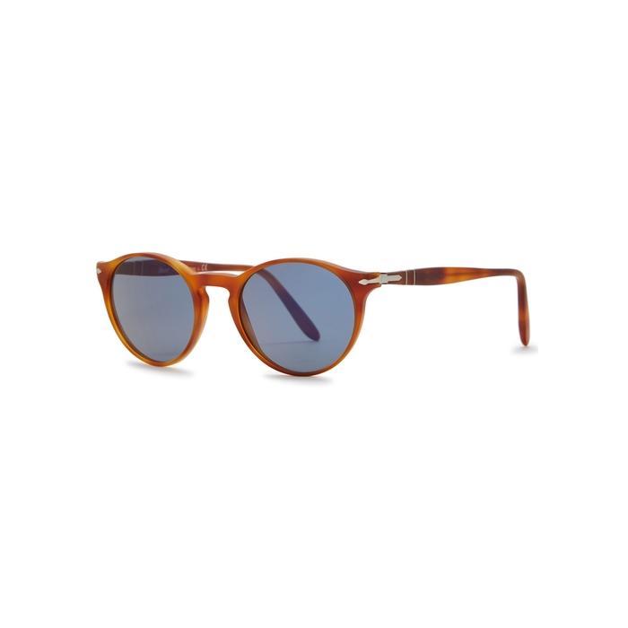 2f1f17d9081c Persol Po3092Sm Oval-Frame Sunglasses In Brown   ModeSens