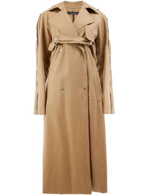 fa1a6744d42 Rokh Trench Coat - Brown