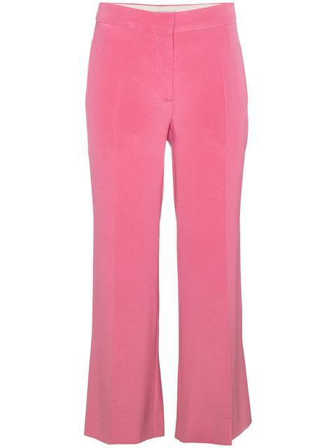 Valentino Silk Culottes In Pink