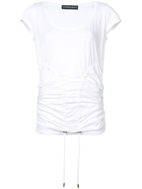 17a5cf1e91a8ce Y/Project Stretch Hug T-Shirt - White | ModeSens