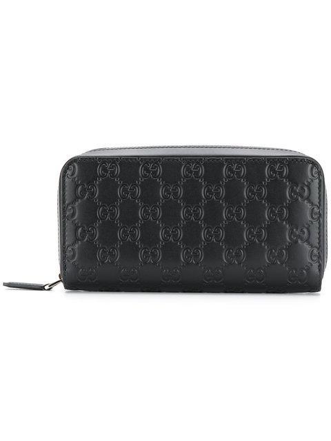 444e4d78f212 Gucci Signature Continental Wallet - Farfetch In Black | ModeSens
