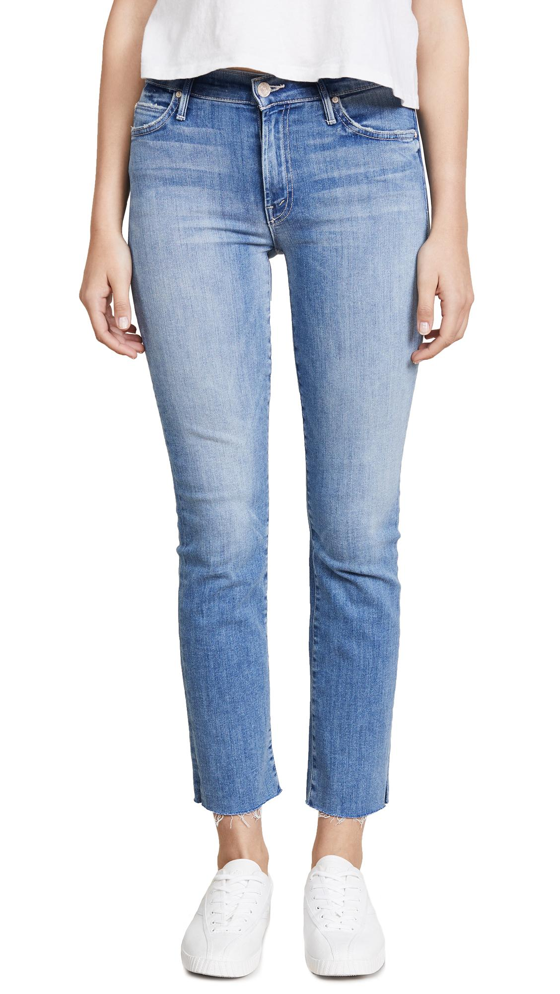 7159cc8804a7d Mother Rascal Ankle Snippet Jeans In Well Played
