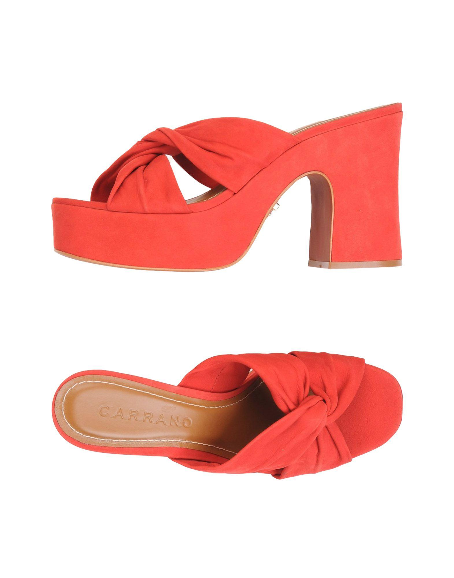 55672436962a8 Carrano Sandals In Red