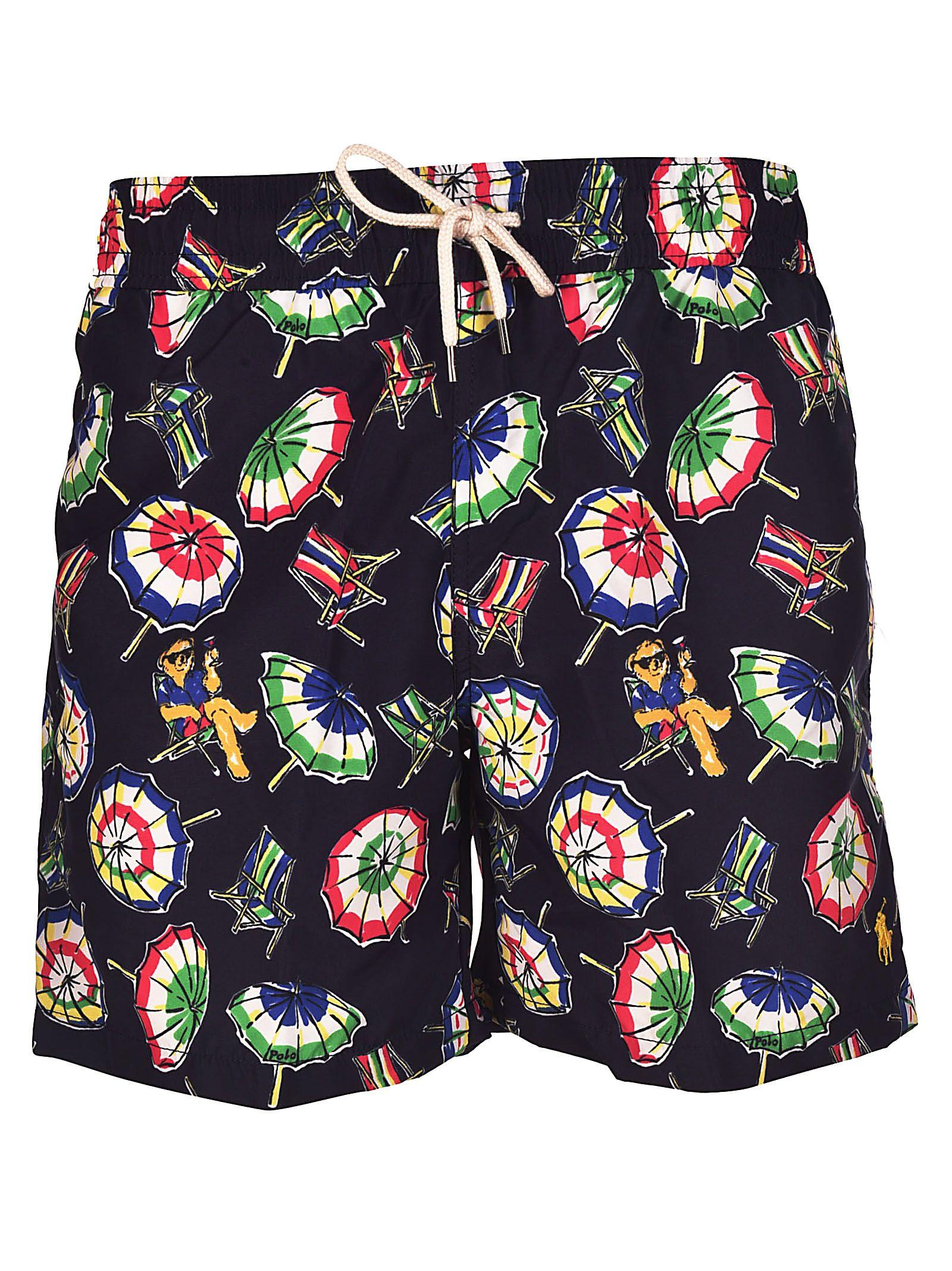 4bfc1f80c6963 Polo Ralph Lauren Printed Swim Shorts In Multicolor | ModeSens