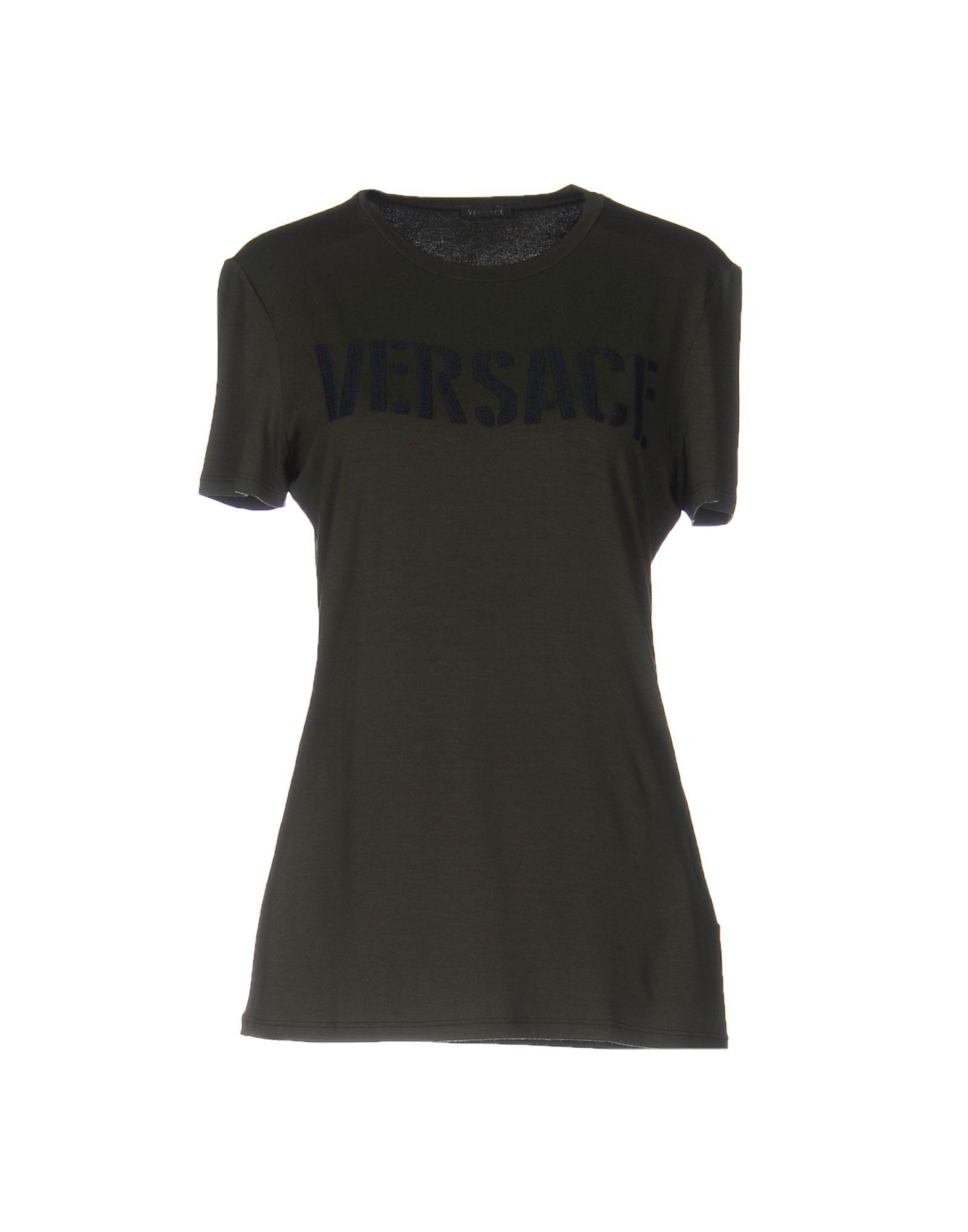 d7681d86 Versace T-Shirts In Military Green | ModeSens