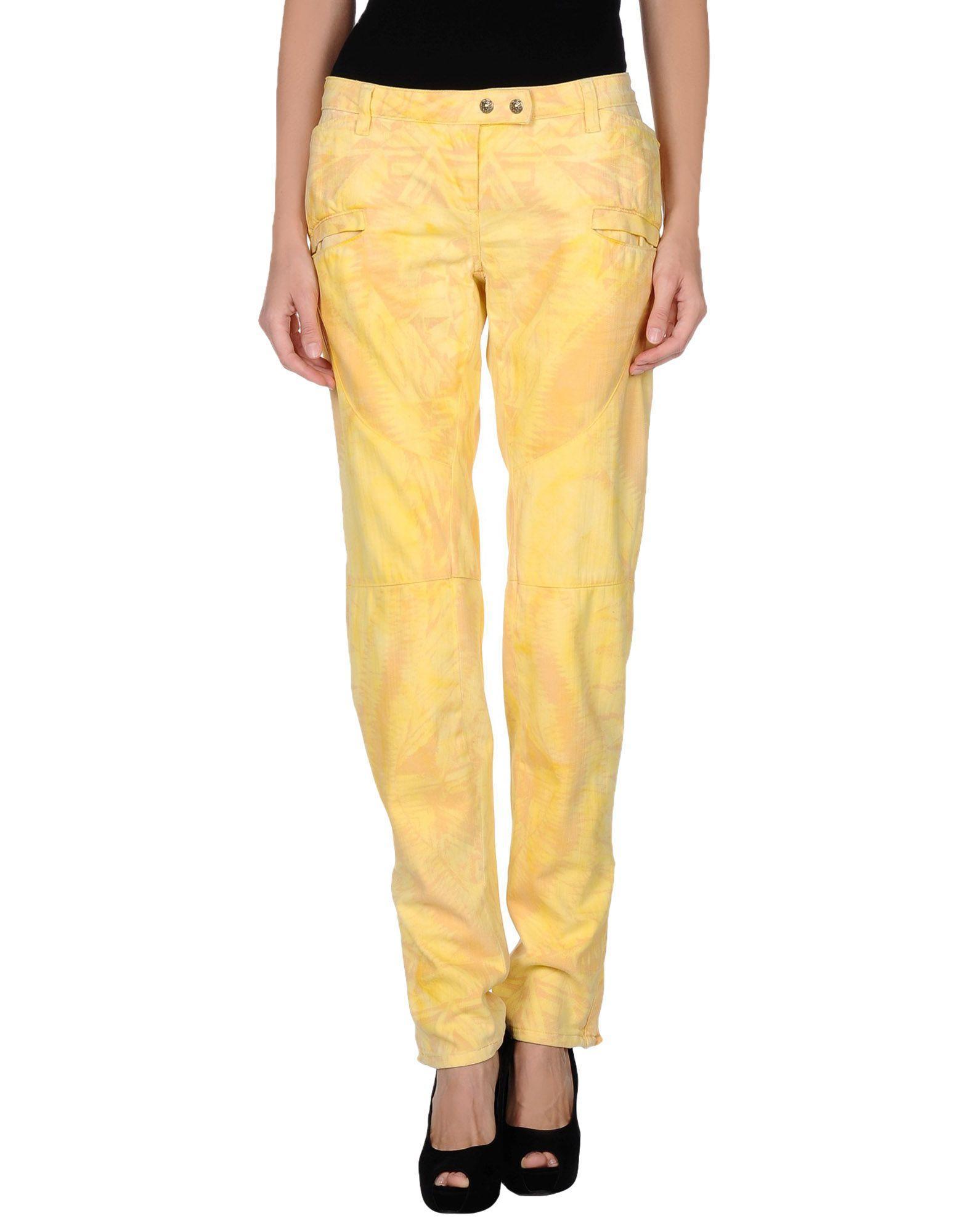 269146d6 Balmain Denim Pants In Yellow | ModeSens