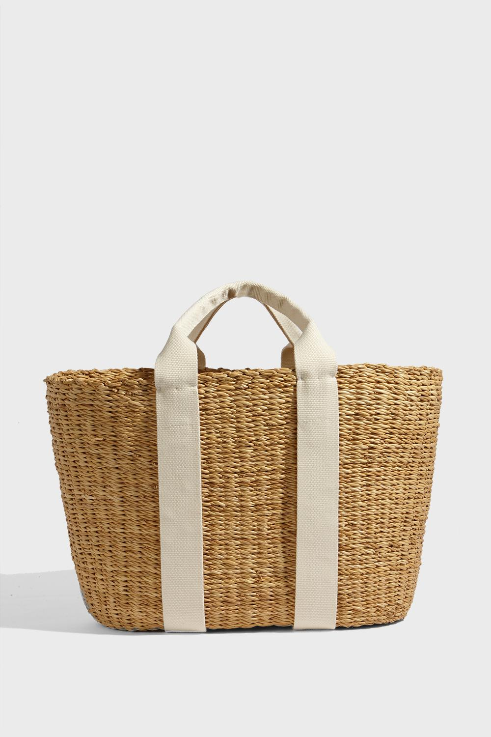 68b56082022bb Muun Caba Hand-Woven Straw Bag In Beige