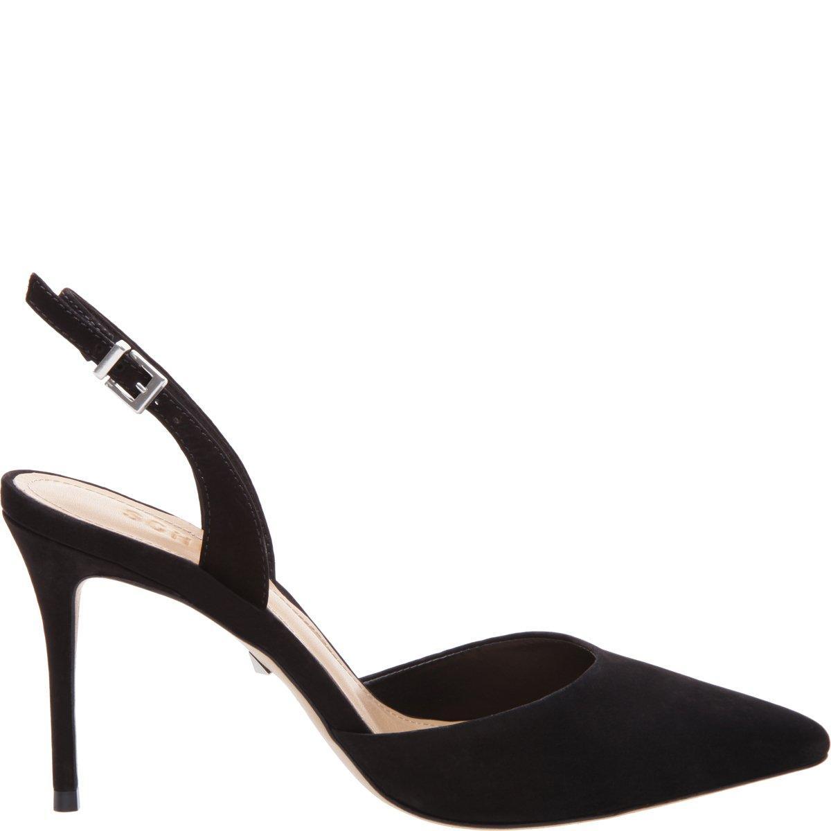 19f8997dba84c Women's Maysha Slingback Pointed-Toe Pumps in Black
