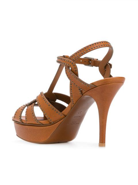 SAINT LAURENT Tribute 75 sandals,518779BDARR12925678