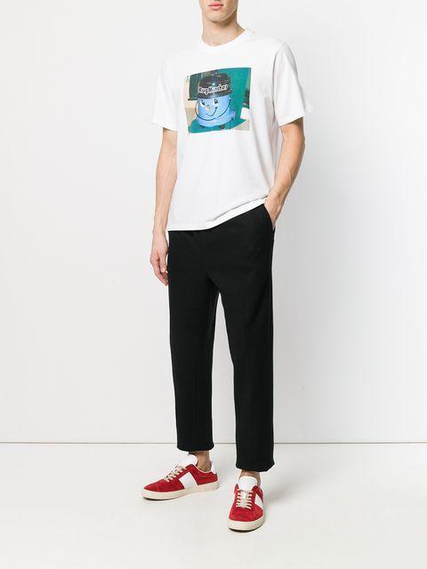 Rug Muncher Print T Shirt White