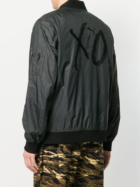 7a0ff5a15cb3 Puma X Xo The Weeknd Bomber Jacket In Black