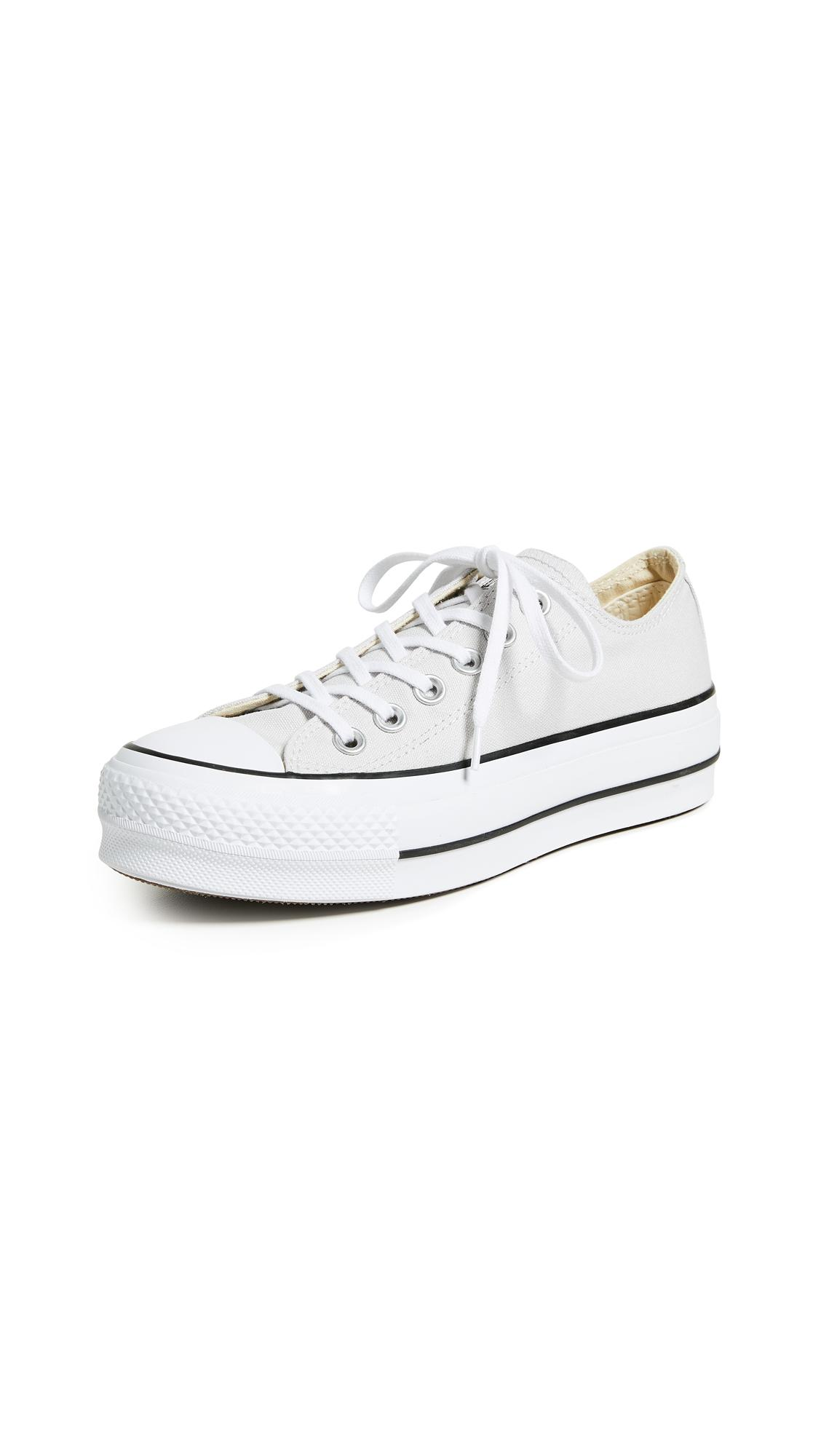 Confrontar Reunión hierro  Converse Chuck Taylor All Star Lift Ox Sneakers In Mouse | ModeSens