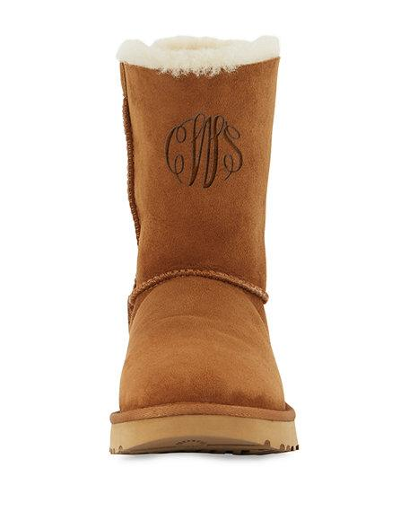 af407c1c66b Ugg Women s Classic Ii Genuine Shearling Lined Short Boots In Chestnut
