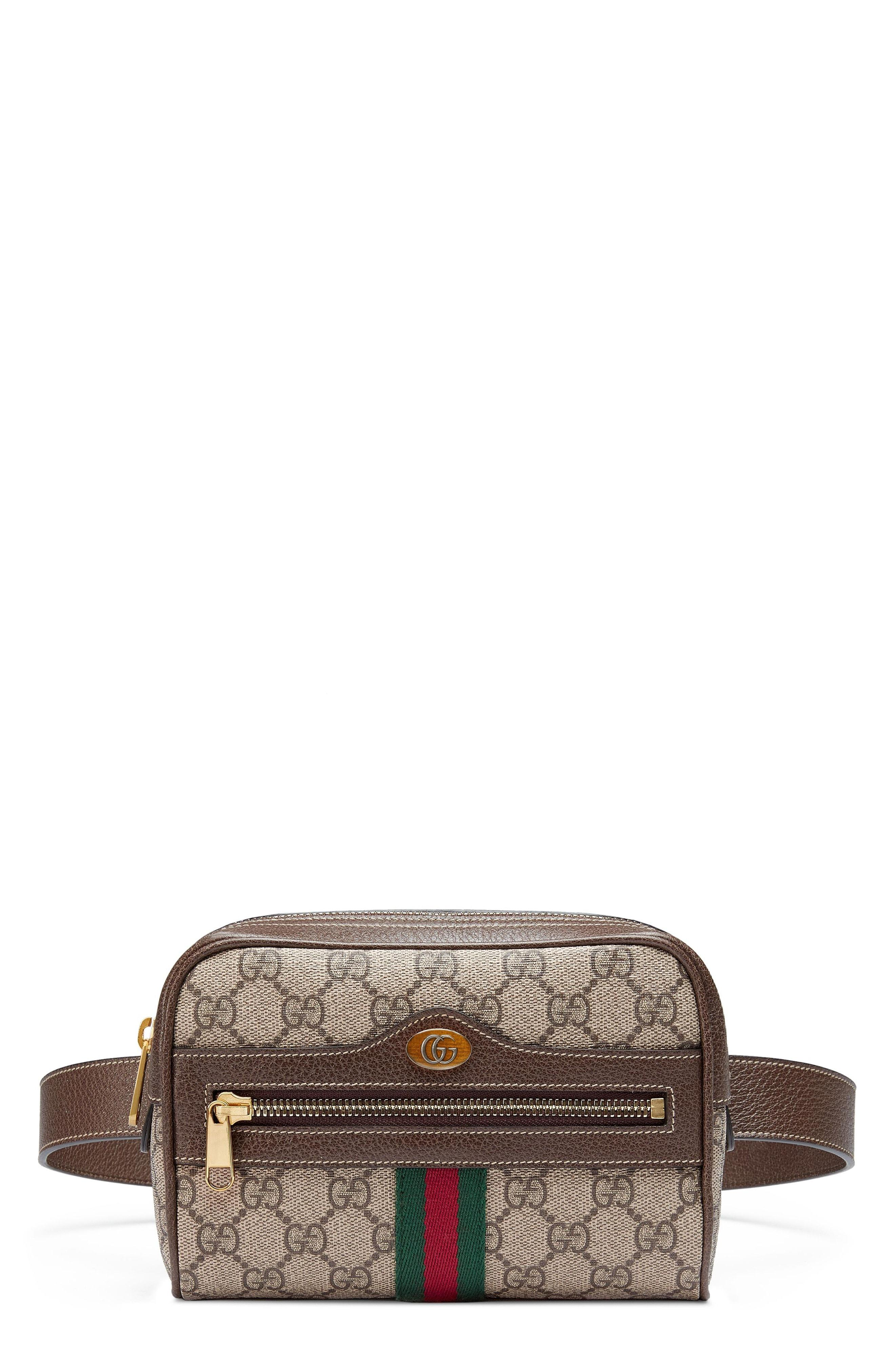 8416b4688 Gucci Ophidia Leather-Trimmed Printed Coated-Canvas Shoulder Bag In ...