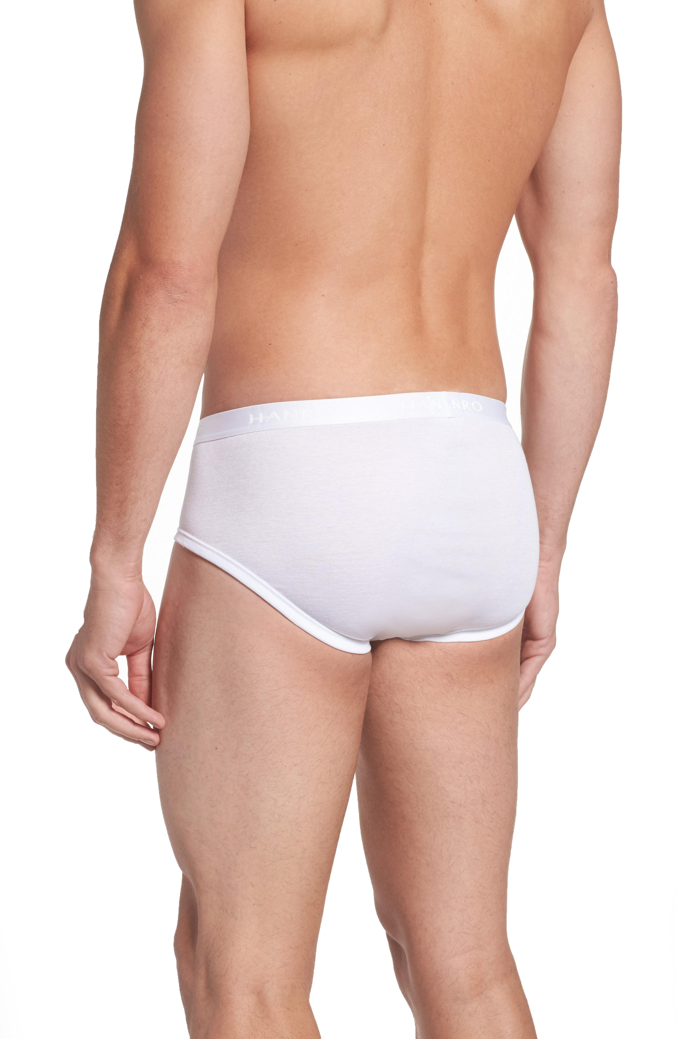 845fb5653183 Hanro Cotton Pure Briefs With Fly In White | ModeSens