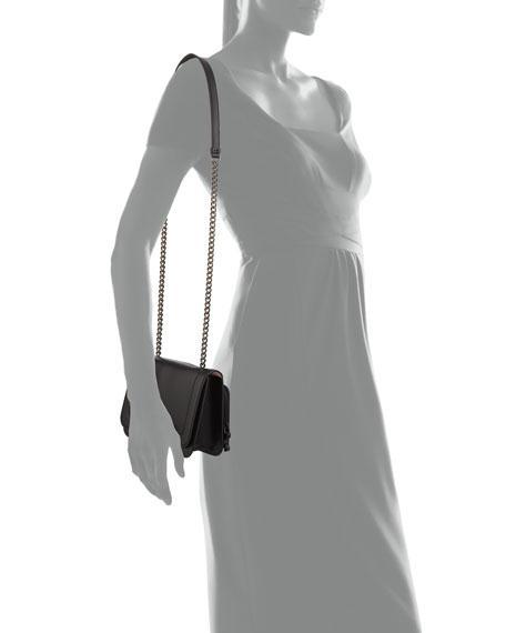 d1e835d5c5a4 Salvatore Ferragamo Women S Leather Cross-Body Messenger Shoulder Bag Vara  Rainbow In Black