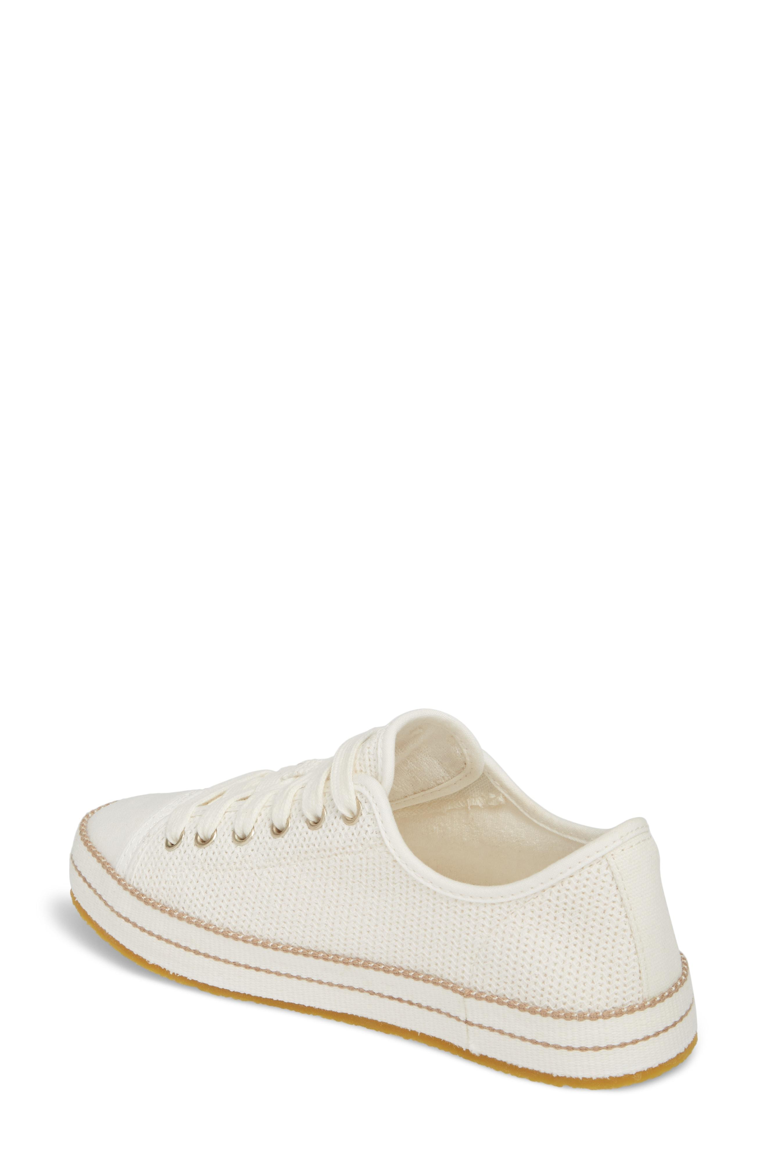 44c8bfddb42 Claudi Knit Lace-Up Sneakers in Natural